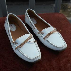 Clarks Leather Loafer Driving Shoes